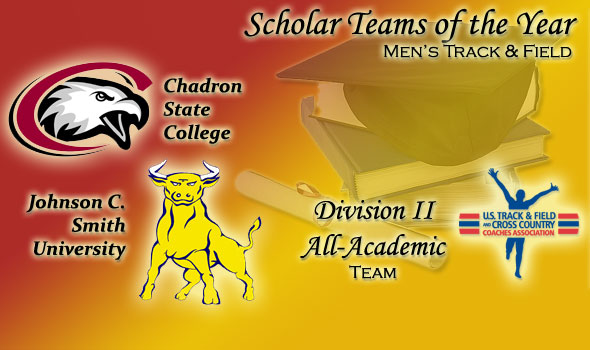 DII Men's Scholar Teams of the Year are Chadron State and Johnson C. Smith