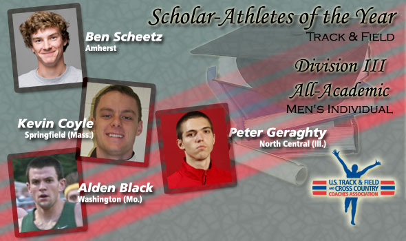 Men's T&F Scholar Athletes and All-Academic Team Announced in Division III