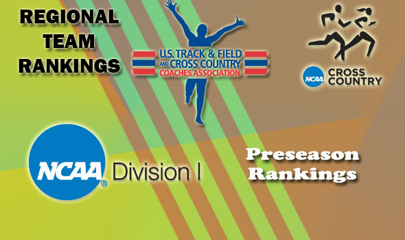 Regional Preseason Cross Country Rankings in Division I Announced
