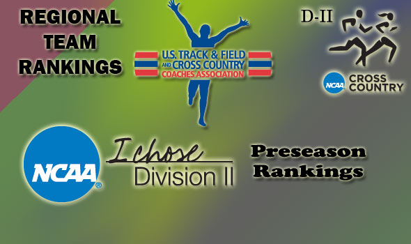 Division II Preseason Regional Cross Country Rankings Complete