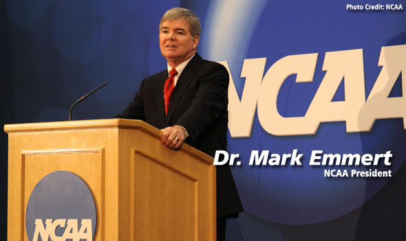 NCAA President Dr. Mark Emmert to Address USTFCCCA Convention