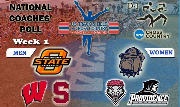 DI National Cross Country Coaches' Poll – Week 1