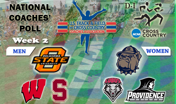DI National Cross Country Coaches Poll — Week 2