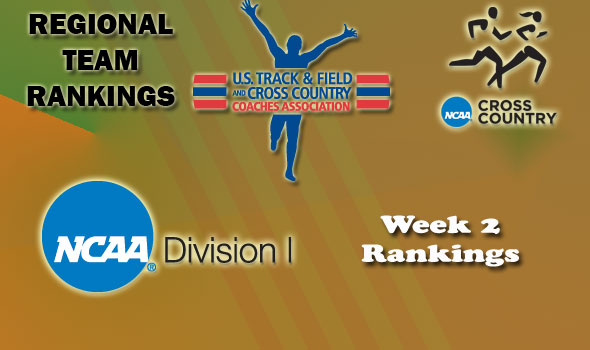 DI Regional Cross Country Rankings — Week 2
