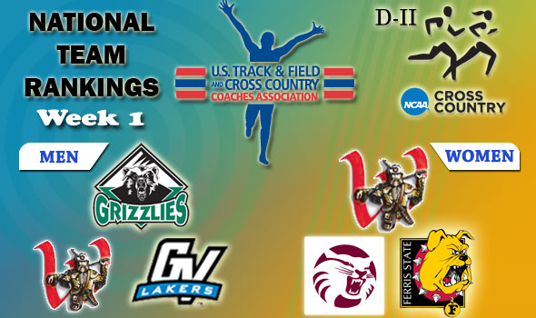 DII National Cross Country Rankings — Week 2