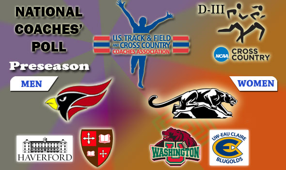 DIII National Cross Country Coaches Poll – Week 1