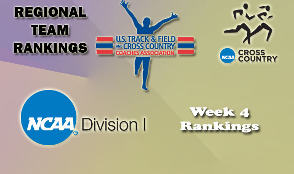 DI Regional Cross Country Rankings — Week 4
