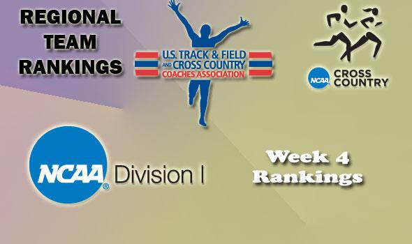 DI Regional Cross Country Rankings — Week 4