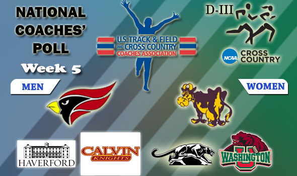 DIII National XC Poll — Williams' Women Takes Over as Top-Ranked Team
