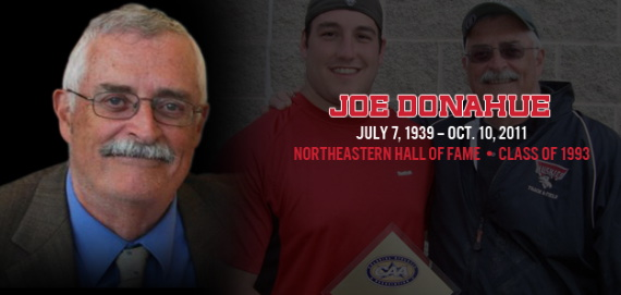 Northeastern University loses a coach and mentor in Joe Donahue