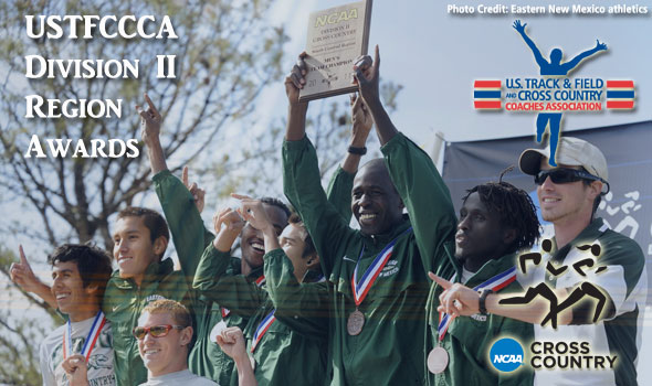 Regional Award Winners for 2011 Released for Division II Cross Country