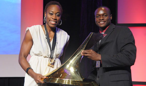 Jessica Beard, Ngoni Makusha Win The Bowerman 2011