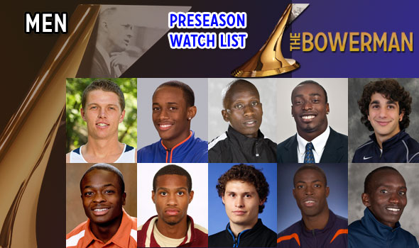 The Bowerman Preseason Watch List for Men Announced