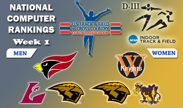 DIII Indoor T&F National Team Rankings — 2012 Week #1