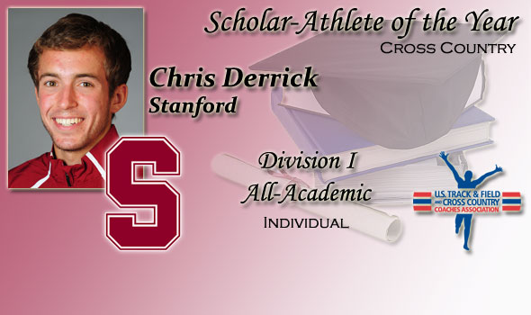 Stanford's Chris Derrick is DI Cross Country Scholar-Athlete of the Year Once Again
