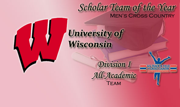 Wisconsin Takes Title as Cross Country Scholar Team of the Year
