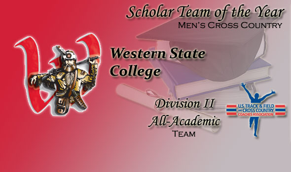 Western State's Men Adds Scholar-Team of the Year Title to Cross County Haul