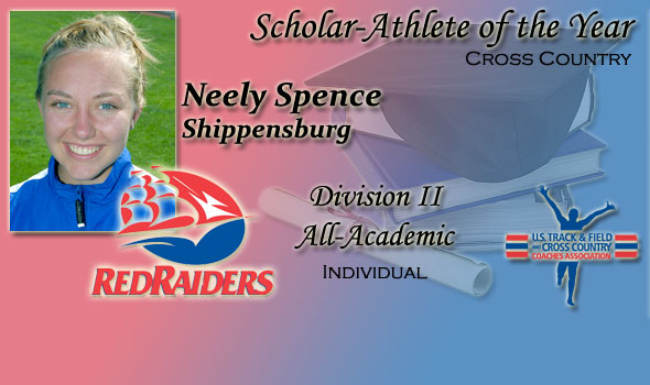 Spence Wins Final Collegiate Award, Scholar-Athlete of the Year for 2011 Cross Country