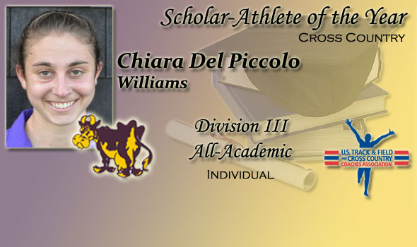 NCAA DIII Women's Champ Del Piccolo Claims Scholar-Athlete of the Year Honor