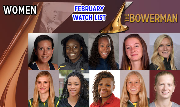 Brooks, Freeman Garner Spots on The Bowerman Women's Watch List