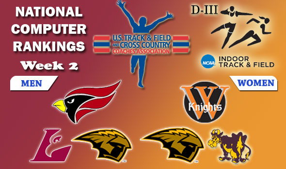 DIII Indoor T&F Rankings — 2012 Week #2, February 1