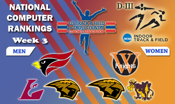DIII Indoor T&F Rankings — 2012 Week 3, February 8