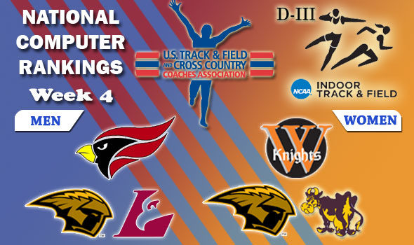 DIII Indoor Track & Field Rankings — Week 4, February 15
