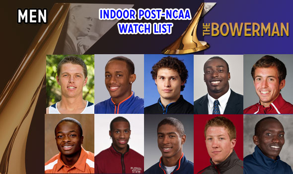 Beach, Derrick, Irwin Now on Bowerman Watch after NCAA Indoor Meet