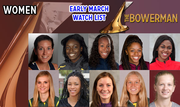 The Bowerman Women's Watch List Has Three New Members