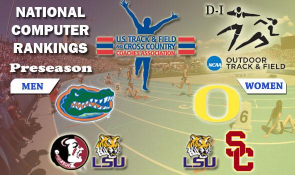 Indoor NCAA Champs Florida, Oregon Start Outdoor Season as Top-Ranked Squads