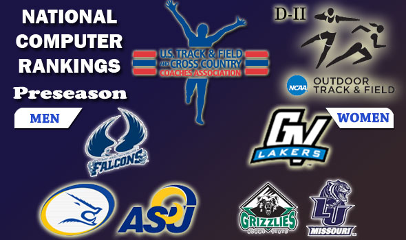 DII Outdoor Preseason Rankings Place Saint Aug's, GVSU on Top