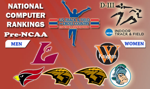 DIII Indoor Track & Field Rankings – 2012 Pre-NCAA, Week #7