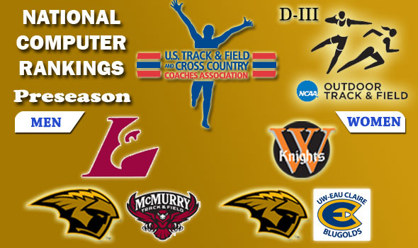 DIII Outdoor Track & Field Preseason Team Rankings Announced