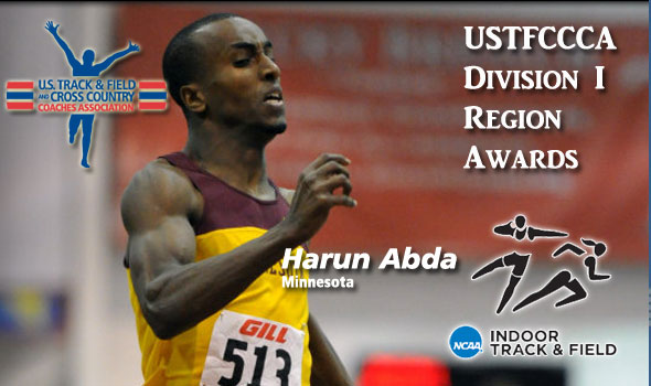 USTFCCCA Region Award Winners Announced for DI Indoor Track & Field