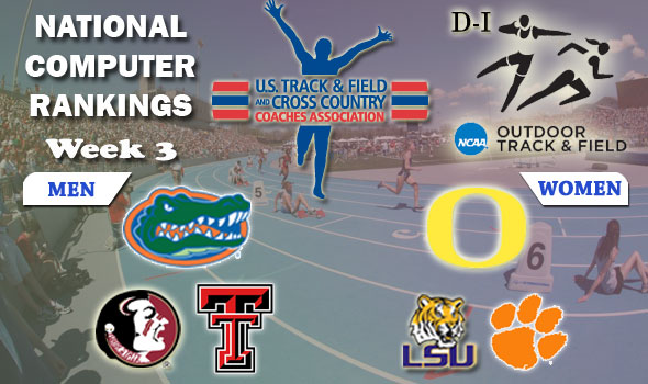 DI Outdoor T&F Rankings Update — 2012 Week #3