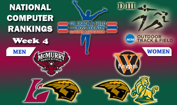 "DIII Rankings: McMurry, Wartburg Still in Control After ""Moving Week"""