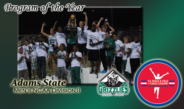 No Stopping Adams State: Winners of Fourth Program of the Year Crown