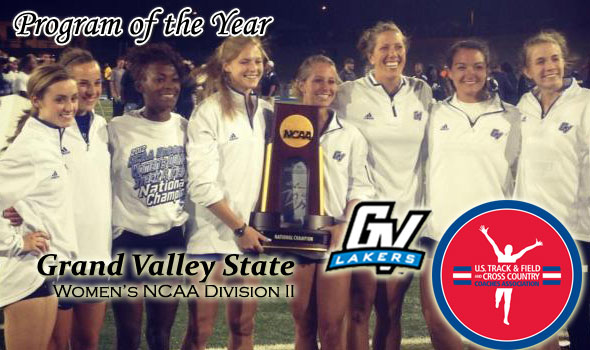GVSU and Déjà Vu: DII Women's Program of the Year Trophy Again Goes to Lakers