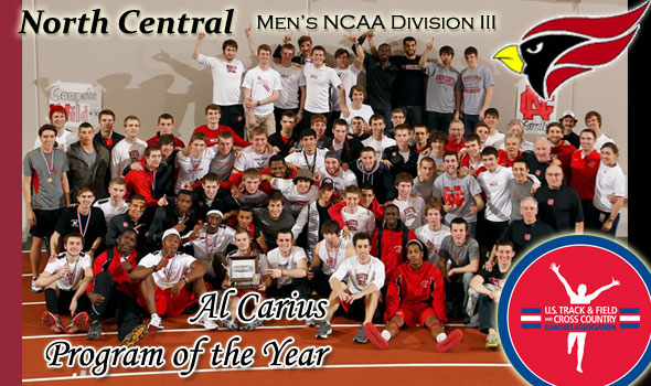 A Three-Peat: North Central Wins Al Carius Program of the Year Award