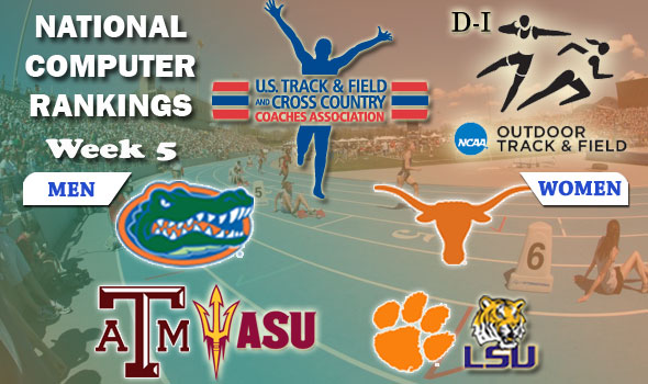 New Week, Again New Number Ones: Florida, Texas Now Lead DI Rankings