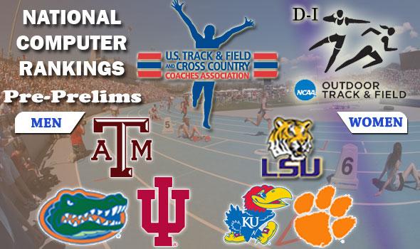 DI Rankings: NCAA Prelims This Weekend — Texas A&M, LSU Enter as No. 1