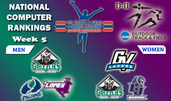 DII Rankings: Adams State's Men Now No. 1, GVSU Women Back to the Top
