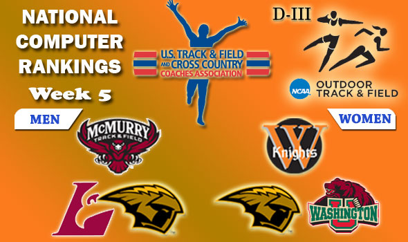 DIII Rankings: Top Teams Stay, Others Make Big Moves in Outdoor Week 5