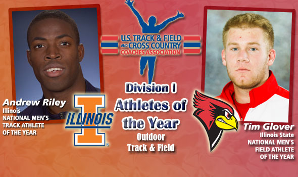 Land of Lincoln Sweeps National Men's Athlete of the Year Honors With Riley, Glover