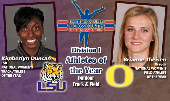 Duncan, Theisen Named DI National Women's Athletes of the Year