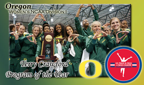 Oregon Wins Fourth Women's Program of the Year Crown