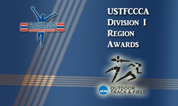 USTFCCCA Region Award Winners Announced for DI Outdoor Track & Field