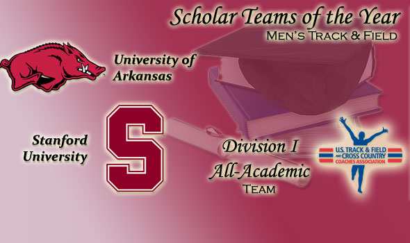 Arkansas, Stanford Named DI Women's Track & Field Scholar Teams of the Year