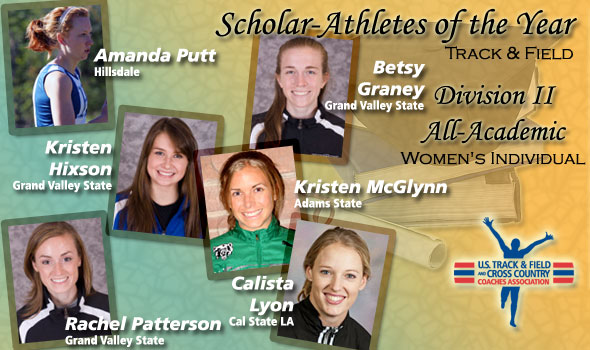 DII Women's Track & Field All-Academic and Scholar Athletes Announced