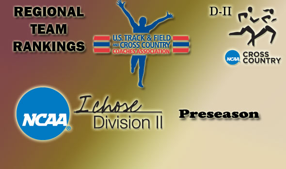 DII Preseason Regional Rankings Released for Cross Country